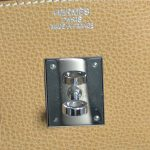 Logo of pre-owned Hermes Paris Birkin Clemence 35 Bag.