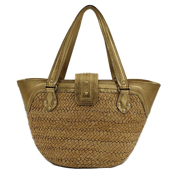 Straw Shoulder Bag - Designer Swap