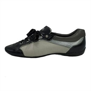 Pre-owned Tod's Multi-colour Casual Shoes in black and grey.