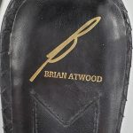 Logo of pre-owned Brian Atwood Leather Ankle Strap Pumps.
