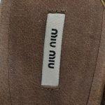 Logo of pre-owned Miu Miu Embellishment Sandals.