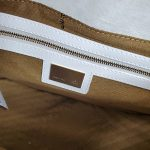 Interior of pre-owned Fendi Patent Leather Mamma Forever Bag.