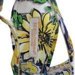 Logo of pre-owned Dolce & Gabbana Slingback Broccato Multicolour Sandals.