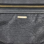 Logo of pre-owned Burberry Vintage Leather Wristlet.