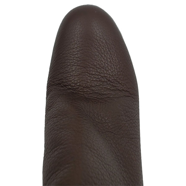 Top view of pre-owned Miu Miu High-knee Boots in brown.