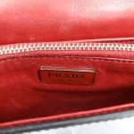 Logo of pre-owned Prada Vintage Patent Leather Crossbody Bag.