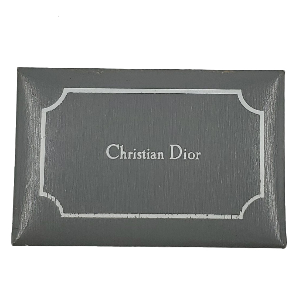 Box of pre-owned Christian Dior Vintage Men's Tie Clip.