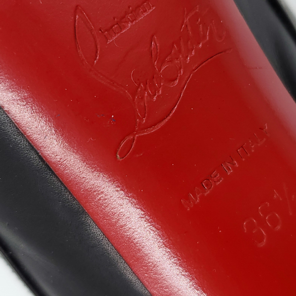 Logo of pre-owned Christian Louboutin Calfskin Equestria 160 Boots.