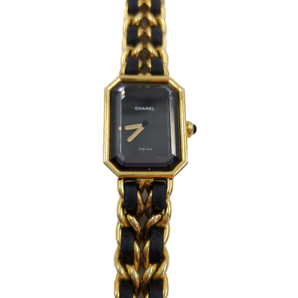 Watch face of Chanel Première Gold Plated Women's Wristwatch.