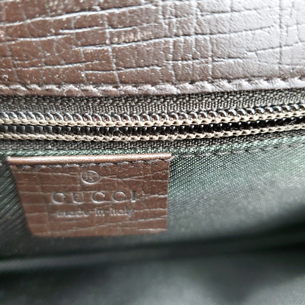 Logo of pre-owned Gucci Vintage GG Monogram Clutch.