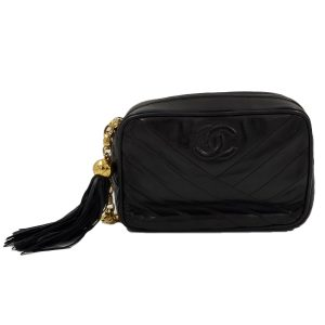 Chanel Vintage Mini Camera Bag - main front photo