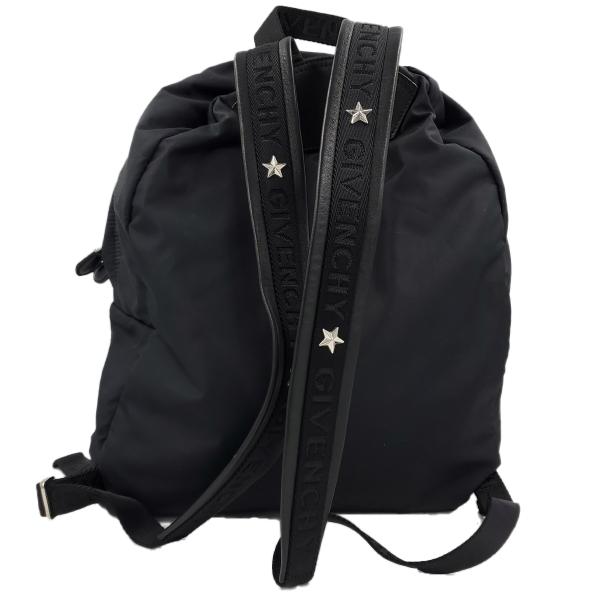 Givenchy Nylon Calfskin Bull Skull Backpack - back view