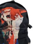 Givenchy Nylon Calfskin Bull Skull Backpack - close up bull view
