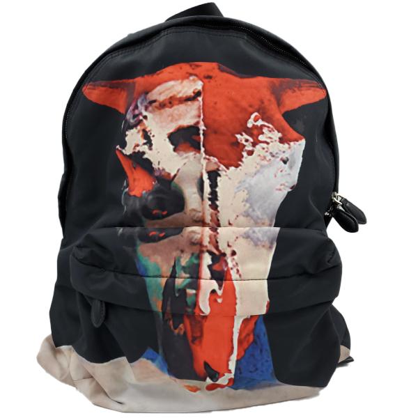Givenchy Nylon Calfskin Bull Skull Backpack - main