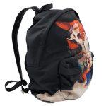 Givenchy Nylon Calfskin Bull Skull Backpack - side view again