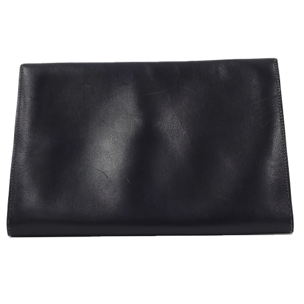 Hermes Vintage Envelope Clutch Flap Bag - back