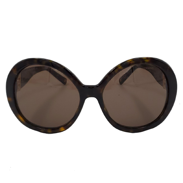 Chanel 5159-H Pearl Round Sunglasses - main