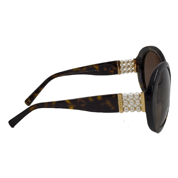 Chanel 5159-H Pearl Round Sunglasses - side 3