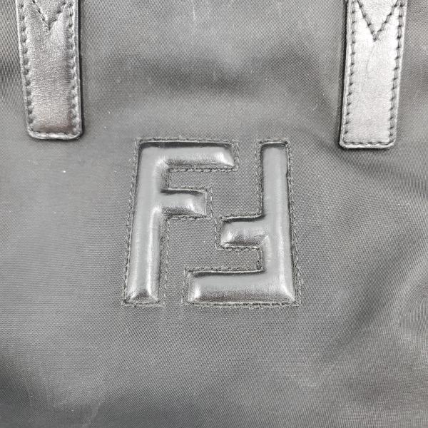 Fendi Nylon Handbag - fendi logo