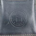 Fendi Vintage Leather Cigarette Case - logo