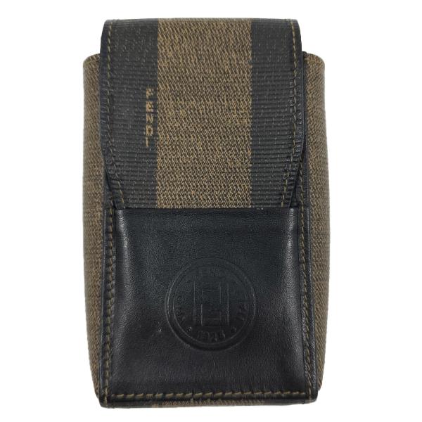 Fendi Vintage Leather Cigarette Case - main