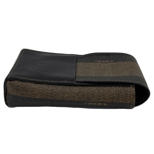 Fendi Vintage Leather Cigarette Case - right side
