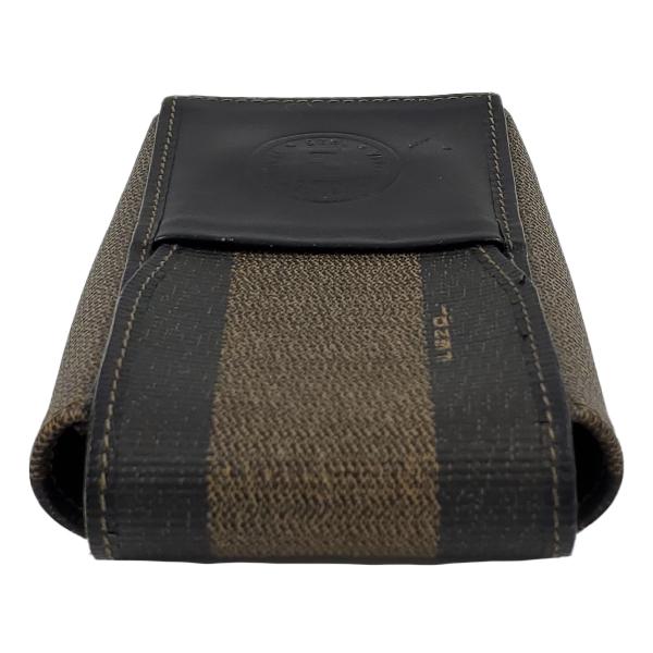 Fendi Vintage Leather Cigarette Case - top view