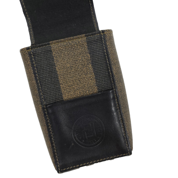 Fendi Vintage Leather Cigarette Case - under flap