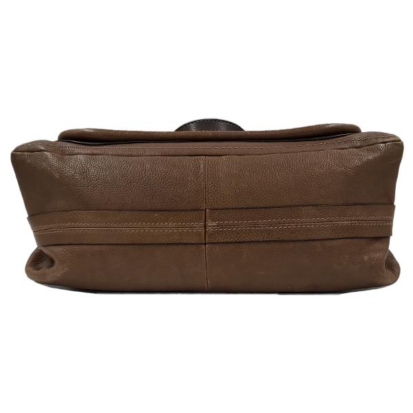 Chloe Paraty Satchel Leather Bag - bottom
