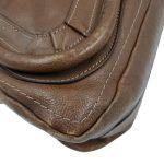 Chloe Paraty Satchel Leather Bag - left corner