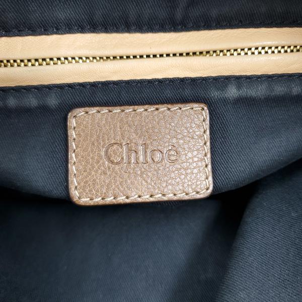 Chloe Paraty Satchel Leather Bag - logo
