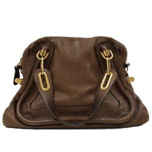 Chloe Paraty Satchel Leather Bag - main