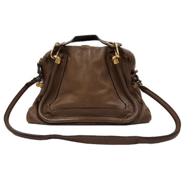 Chloe Paraty Satchel Leather Bag - shoulder strap