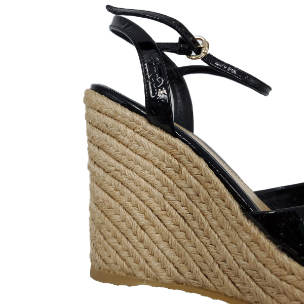 Gucci Vernice Microguccissima Wedges - wedge