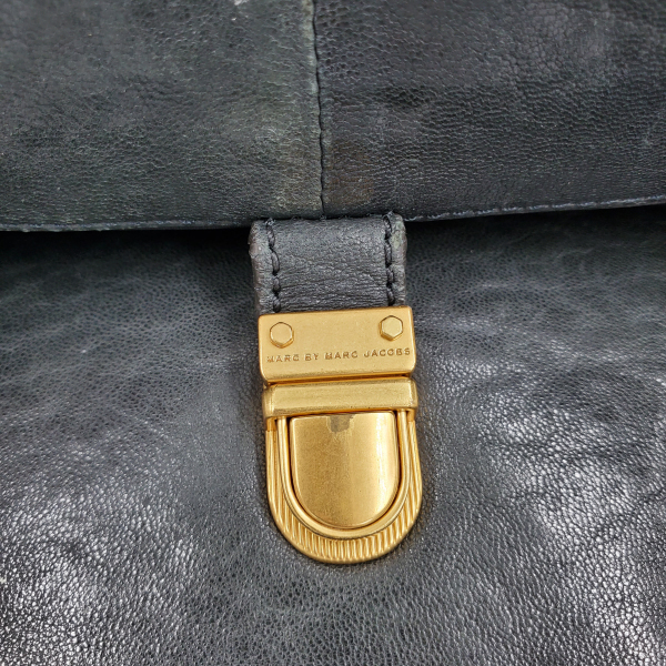 Marc by Marc Jacob Colourblock Satchel Bag - hardware