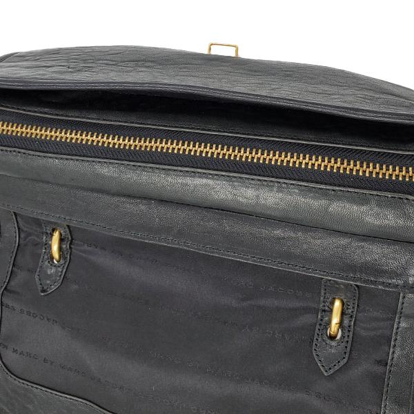 Marc by Marc Jacob Colourblock Satchel Bag - top zip closure